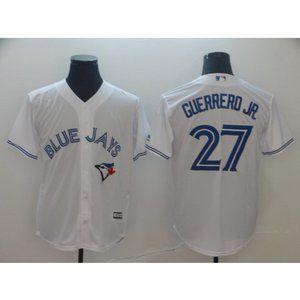 NEW MLB Guerrero Jr. Toronto Blue Jays Jersey 27#